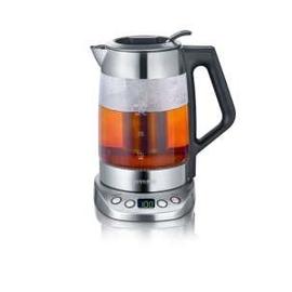 WK3479 Severin Glas Tee-/Wasserkocher einstellb. Temperatur 1,7L 3000W Edelst. Produktbild