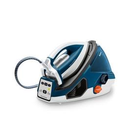 GV7850 Tefal Hochdruck Dampfbügelstation Pro Express  Weiß/Blau 6,9bar Produktbild