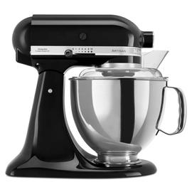 5KSM175PSEOB KitchenAid Küchenmaschine 4.8L Artisan onyx schwarz Produktbild