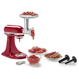 5KSMMGA KitchenAid Zubehör für alle Küchenmaschinen Ganzmetall Fleischwolf Produktbild