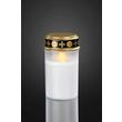 522860 Hellum LED Grablicht weiß deluxe inkl. Batterien (Baby) mit 6h Timer Produktbild