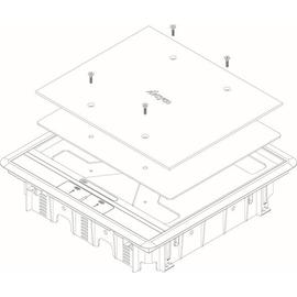 16125 Trayco FS-HC-SQ-260-FILL-3-CB Füllelement Deckel quadratisch 3mm Produktbild