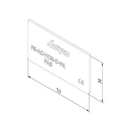 15653 Trayco FS-AC-HO-D-PA9011 Trennsteg f. Gerätebecher Produktbild