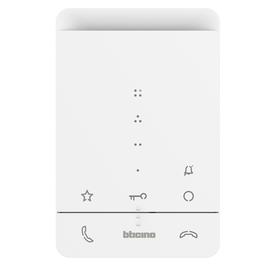344282 Bticino CLASSE100 A16E AUDIO Hörerlos 4 Zusatztasten Produktbild