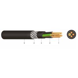 YSLYCY-JZ 5x35 schwarz 0,6/1kV PVC-Steuerleitung CU-geschirmt Produktbild