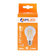 LIMLED Filament LED Lampe 7W klar E27 806lm A60 2700K Produktbild Additional View 1 S