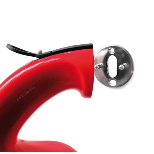 D-1460200 Firephant Design Pulver- Feuerlöscher 1 kg rot Produktbild Additional View 1 L