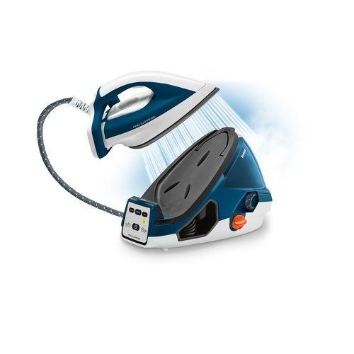 GV7850 Tefal Hochdruck Dampfbügelstation Pro Express  Weiß/Blau 6,9bar Produktbild Additional View 1 L