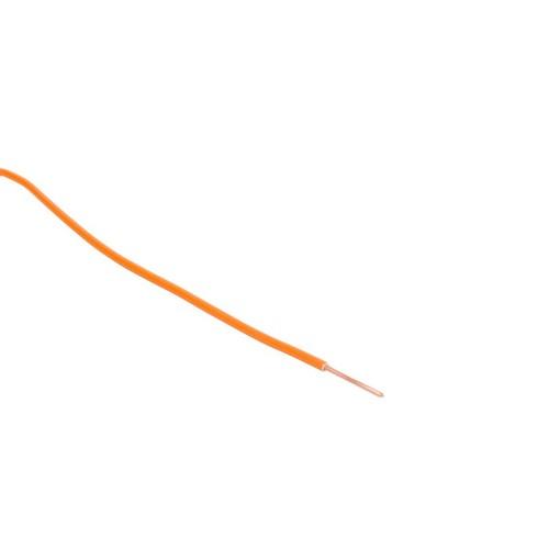 H07V-U YE 1,5 orange 100m Ring PVC-Aderleitung Produktbild Front View L