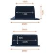 BED250 Tefact Betoneinbaudose zum Einbau in Stahlbetondecken und Wände Produktbild Additional View 2 S
