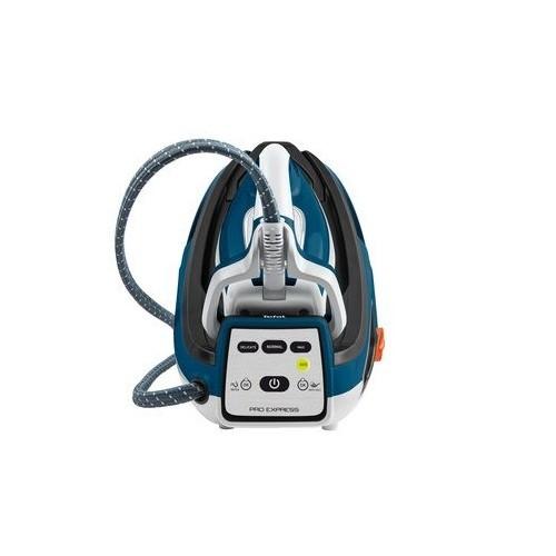 GV7850 Tefal Hochdruck Dampfbügelstation Pro Express  Weiß/Blau 6,9bar Produktbild Additional View 2 L