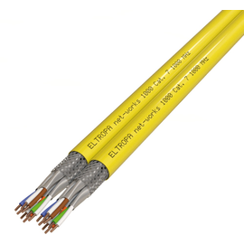 ELTROPA NET-WORKS 1000 DUPLEX Cat.7 S/FTP 2X(4X2XAWG23/1) gelb FR Produktbild