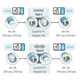 001-799 Adapterset Alt-Neu Produktbild