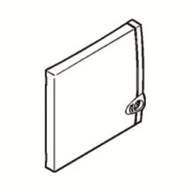 001328 Legrand Tür reinweiß RAL 9010 für AP Kleinverteiler 01308 8+1 Module Produktbild
