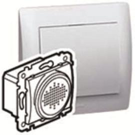 775674 LEGRAND UP-Spannungsversorgung m. inkludiertem Lautsprecher Galea anthraz. Produktbild