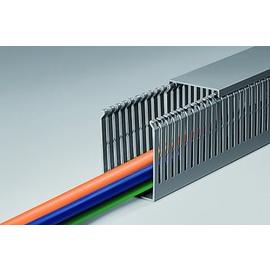 T1EF 40X100 BOCCHIOTTI Verdrahtungskanal m. Stegbreite 6mm hart PVC Produktbild