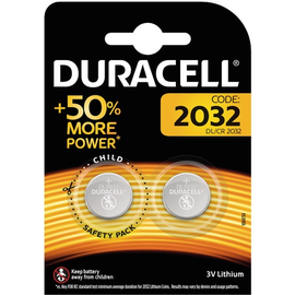 5000394203921 Duracell Lithium 2032 B2 Knopfzellenbatterie 3V 2 Stk.-Blister Produktbild