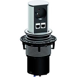928.008 Bachmann Elevator 1xUTE 2xCAT6 90° Strom 0,5m GST18 Produktbild