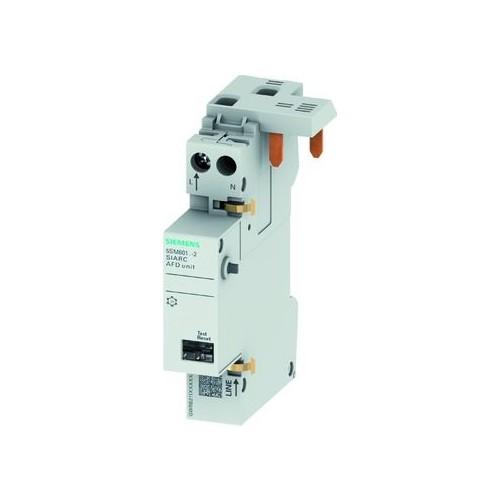 5SM6011-2 Siemens AFD BLOCK 1 16A 2POL 230V 1TE+1TE Produktbild Front View L