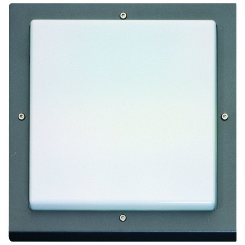623187 Eltropa Bassi 10W LED 3000K 580lm Wand/Deckenleuchte graphit Produktbild Front View L