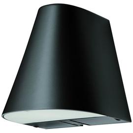 12410103 Eltropa Wandleuchte 1100 LED up/down 3000K 2Std. schwarz IP44 614914 Produktbild