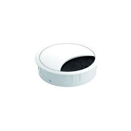 930.301 Bachmann Kabeldurchführung, rund, Edelstahl   Optik Produktbild