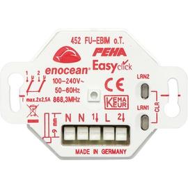 D 452 FU-EBIM O.T. Peha EnOcean Easyclickpro Empfänger, Unterputz, 2 Ka Produktbild