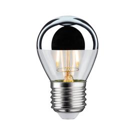 28483 Paulmann LED Tropfen 4,5W E27 Kopfspiegel Silber 2700K dimmbar Produktbild