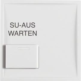13088989 Berker BERKER S.1/B.x Zentralstück mit weißer Quittiertaste   Produktbild