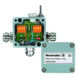 8564060000 Weidmüller FBCon PA CG/M12 1way Feldbus, Dez. Peripherie - Produktbild