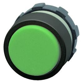 BS3DL GN Benedict Leuchtdrucktaste grün m.Kunststoff Frontring schwarz Produktbild