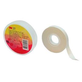 7100119565 3M Scotch® 27 Glasgewebeband weiß 12mm x 20m, 0,18mm Produktbild